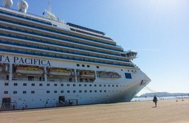 Crazy cruises pacifica 1 una giornata speciale a bordo di for Nave pacifica
