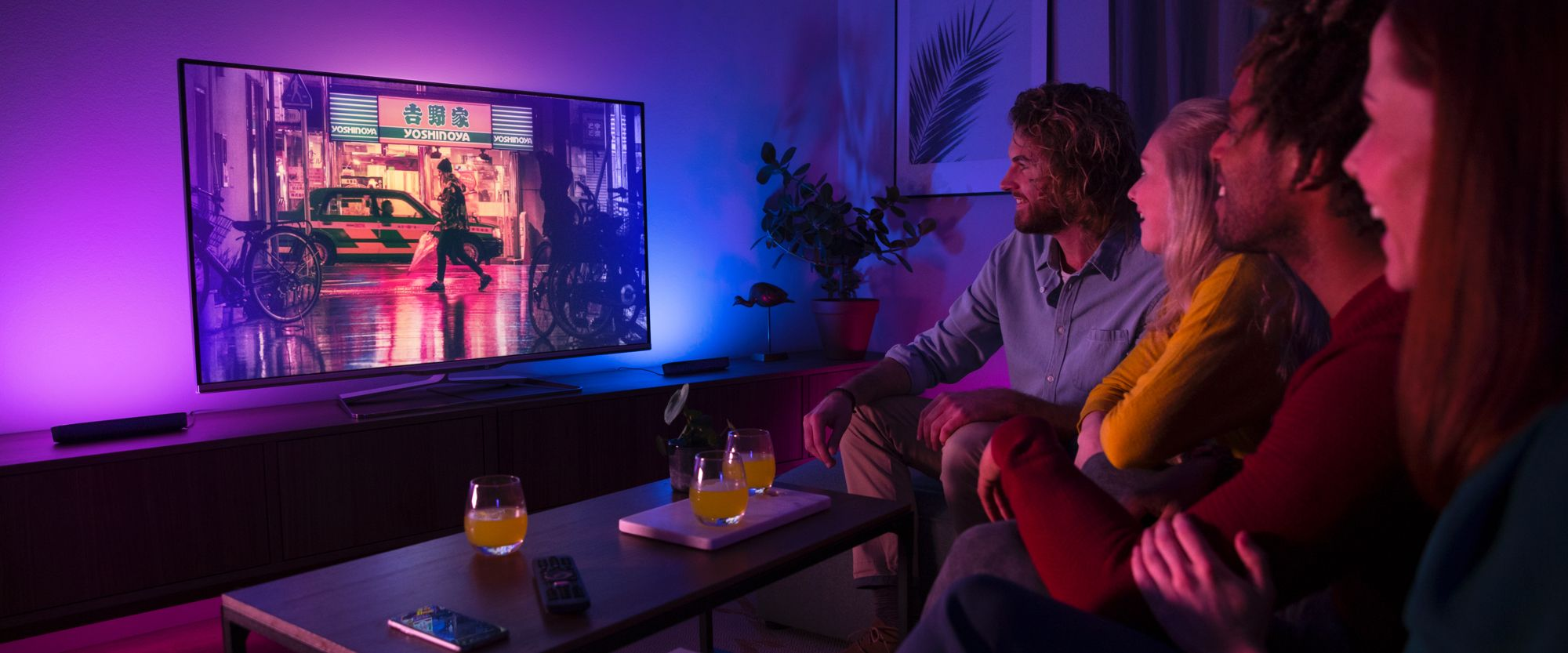Sync Smart Lights With Your Home Theater Hue Hue Philips Smart Lights Hue
