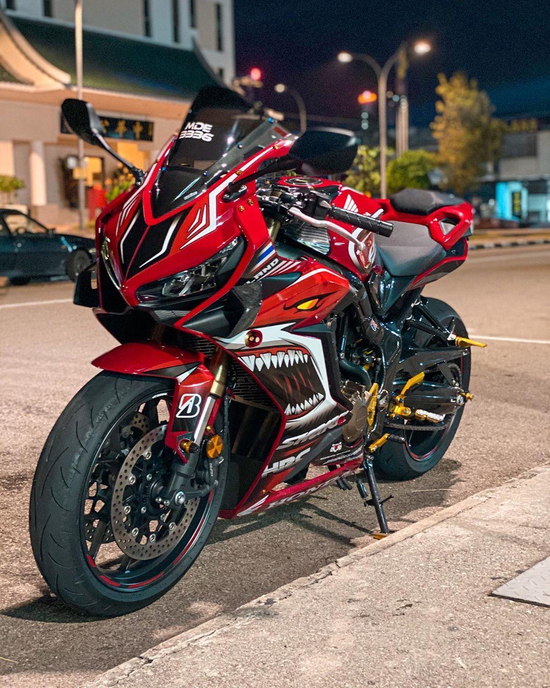"""Honda CBR650R on Instagram """"🦈 📸 cbr650r_shark . cbr650r"""