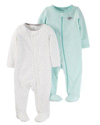 be48f5d2c Sleepwear 163400  Just One You By Carters Unisex Baby 2 Pack Sleep N ...
