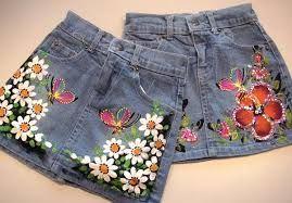 Resultado de imagen para falda en jeans para niñas  13380251c6c10