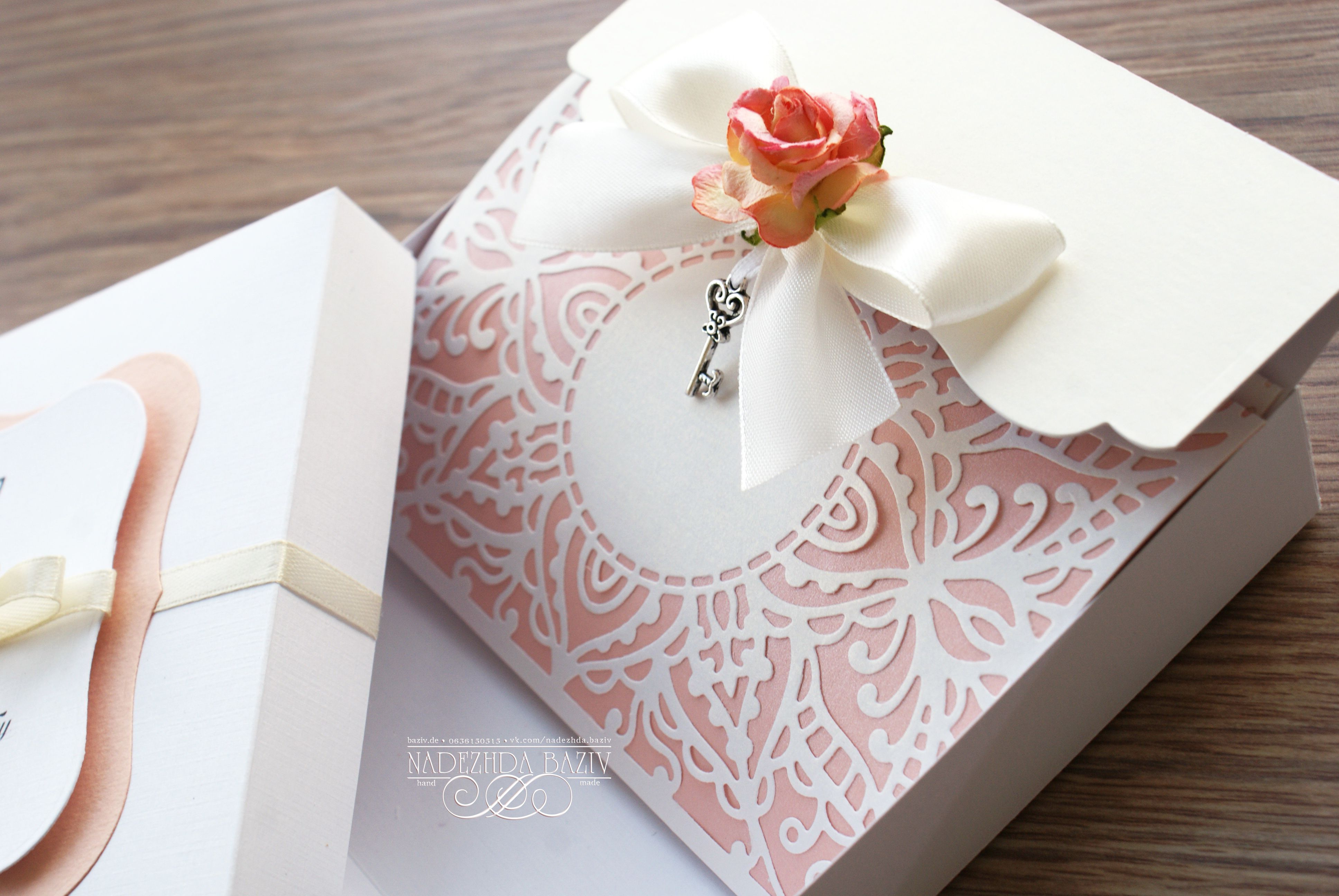 Nadezhda Baziv handmade wedding invitation | Handmade Wedding ...