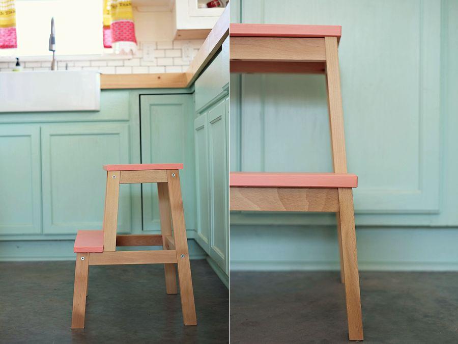 Painted ikea stool & Painted ikea stool | baby | Pinterest | Stools Ikea hack and Ikea ... islam-shia.org