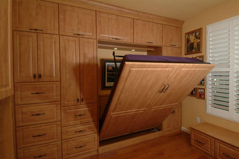 Murphy Bed with Cabinetry. Perfect for small rooms ...