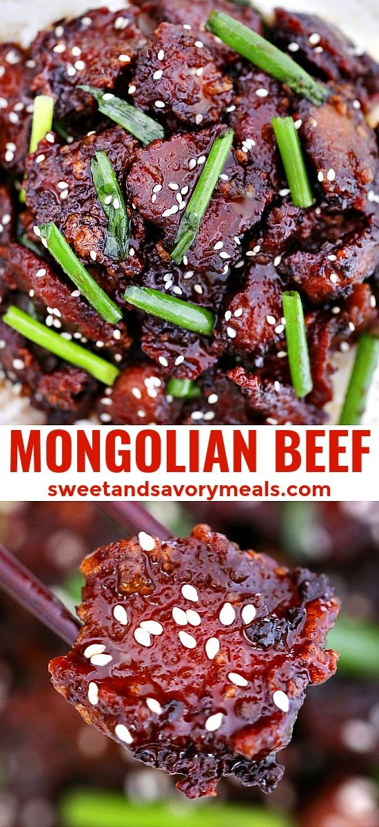 Mongolian Beef Recipe Video Sweet And Savory Meals Recipe Mongolian Beef Recipes Beef Recipes Lamb Recipes