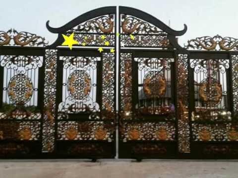 Besi Tempa Klasik Ornamen Besi Tempa Model Pagar Rumah Mewah