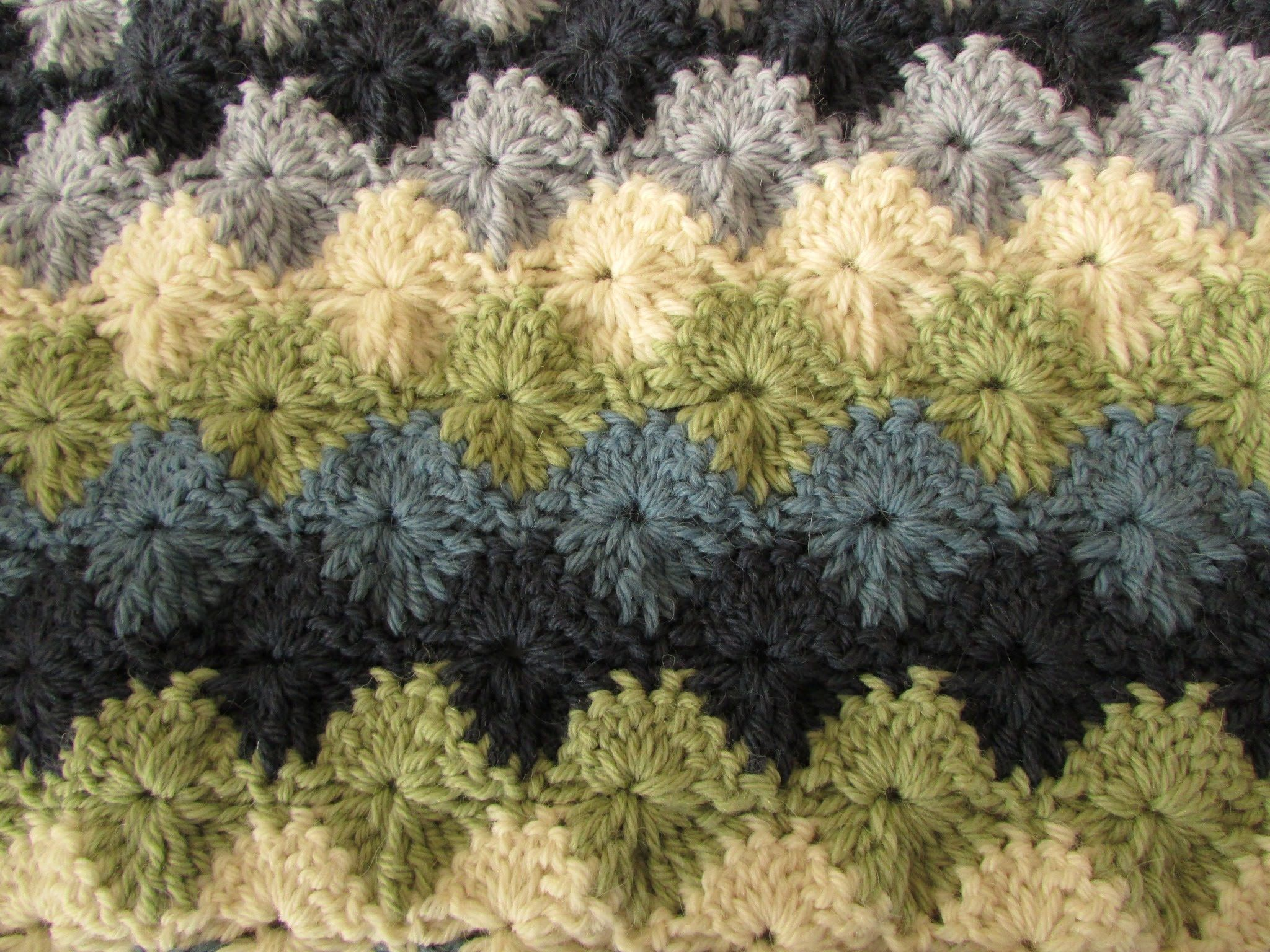Easy crochet catherine wheel starburst stitch blanket tutorial easy crochet catherine wheel starburst stitch blanket tutorial part 1 of 2 scarf baby blanket throw or afghan another good teacher of this stitch bankloansurffo Images