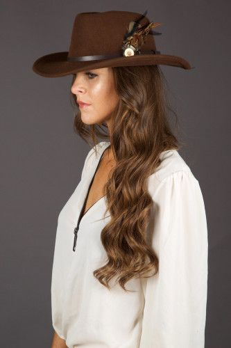 c41300e3a Holland Cooper waterproof trilby hat in Fox Brown | i want ...