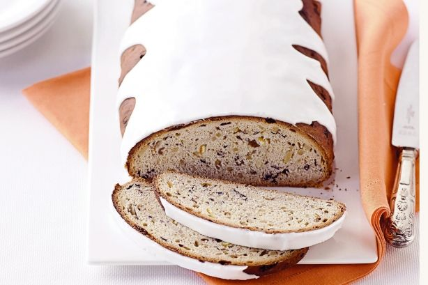 A Christmas tradition from Germany, this sweetened bread is a treat at any time of day.