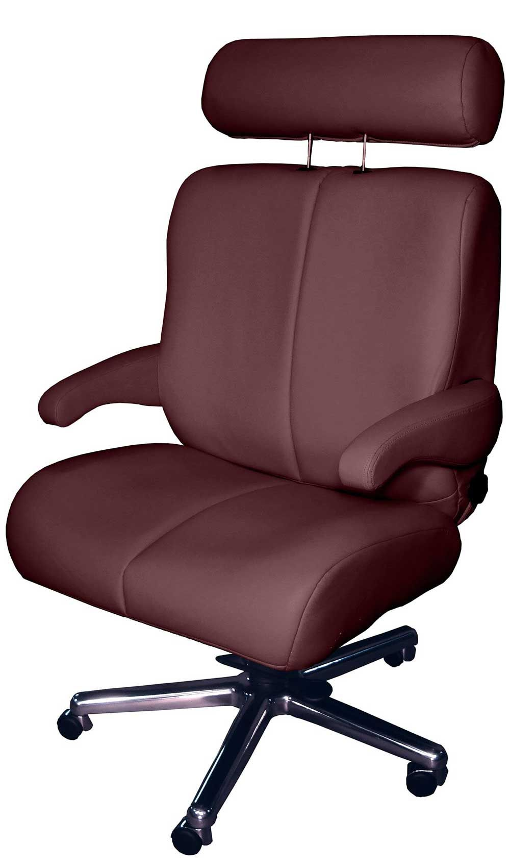 Bariatric Capacity Leather Tall and Wide Office Chair  Luxury