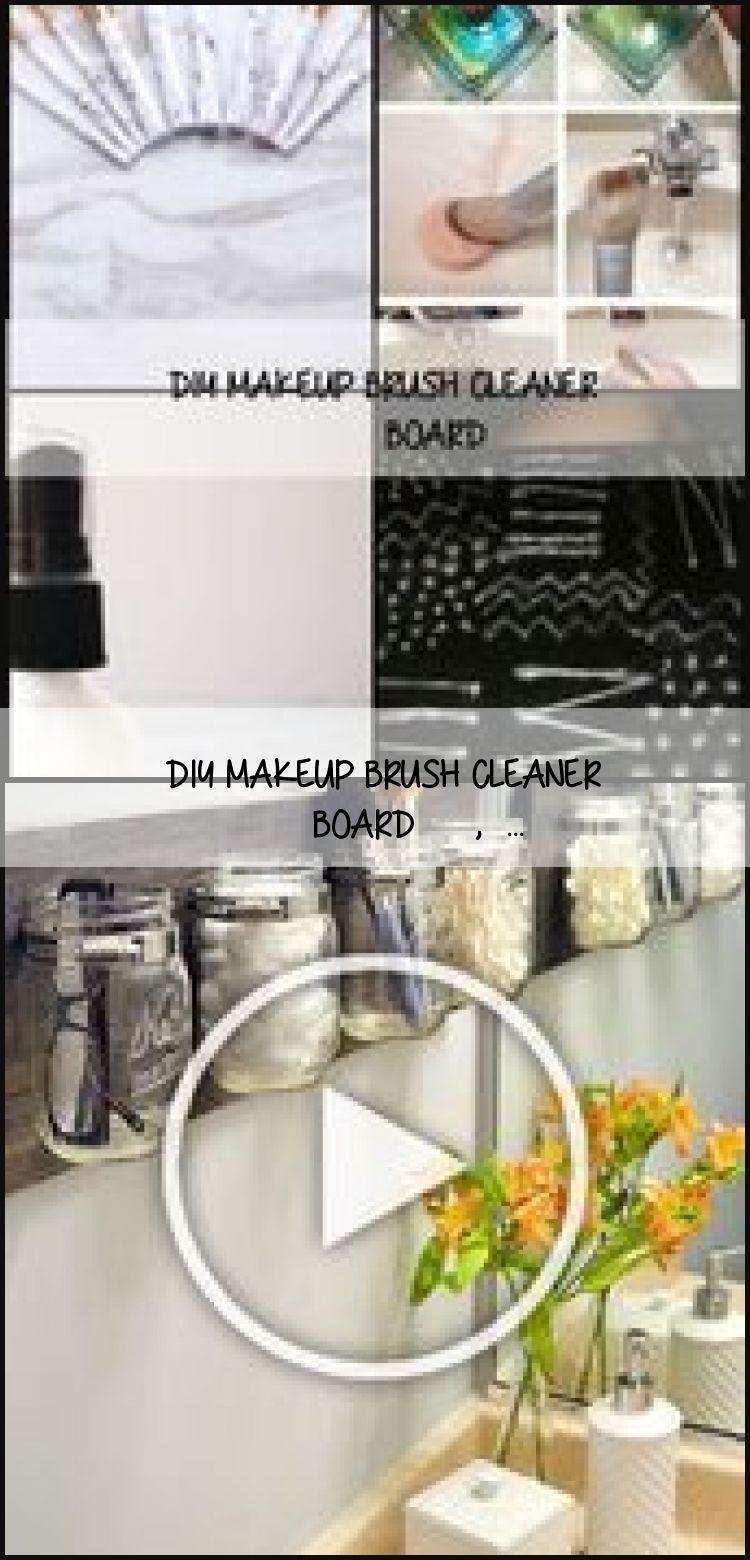 Photo of DIY MAKEUP BRUSH CLEANER BOARD #hair #love #style #beautiful #MakeupBeautyBlog,  #diymakeupbr…
