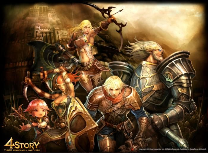 The online RPG 4Story #games