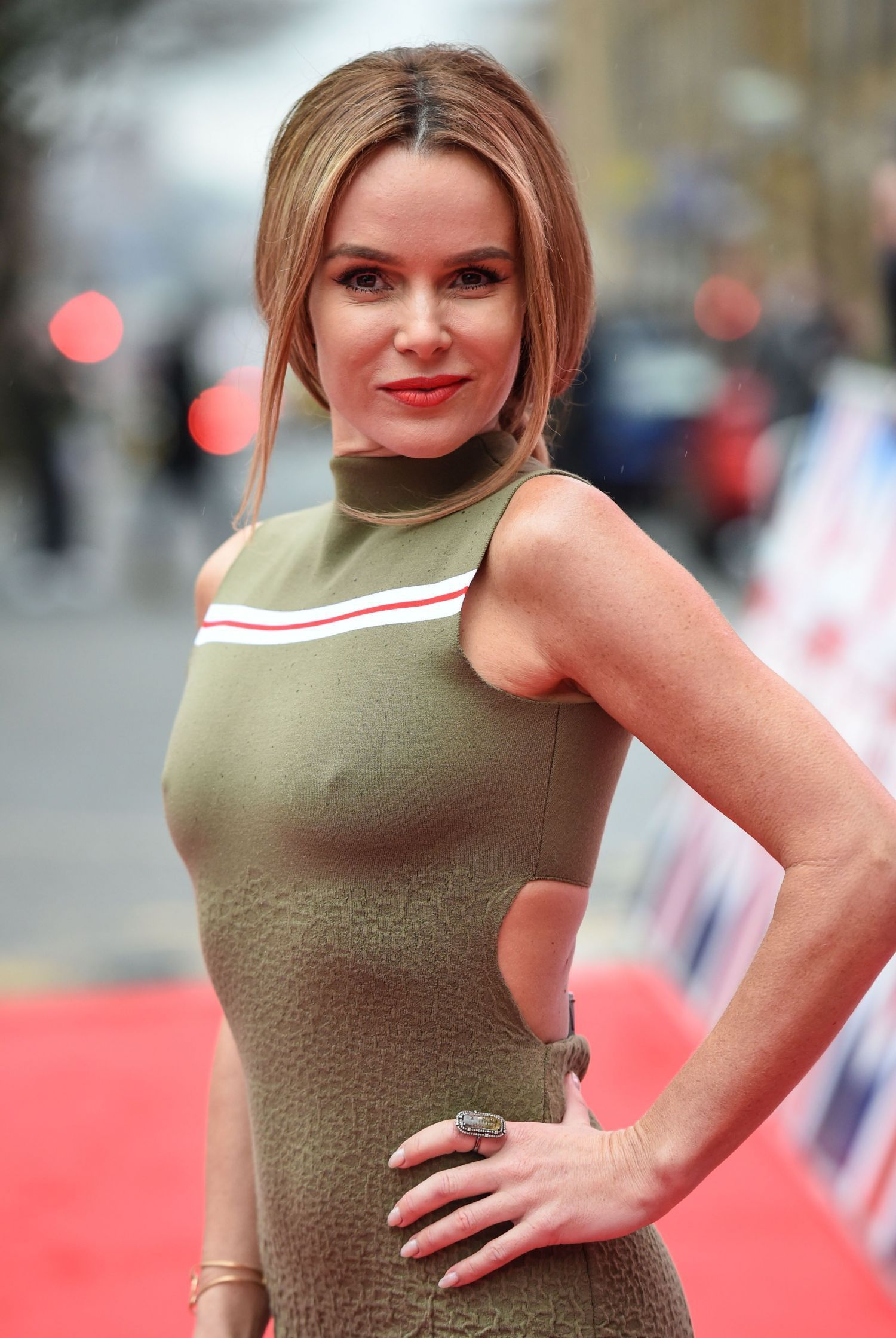 Sexy Pics Of Amanda Holden At Britains Got Talent Auditions In Birmingham