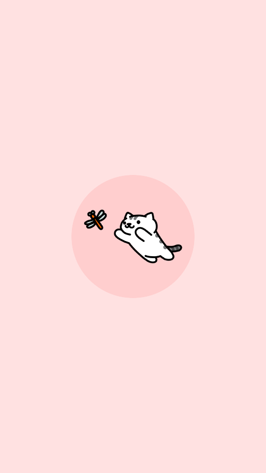 Neko atsume wallpaper, Neko atsume, Cute cat wallpaper
