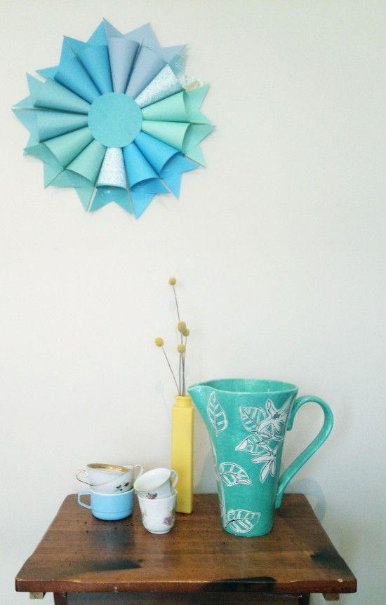 DIY Wedding    Paper Pastel Decoration