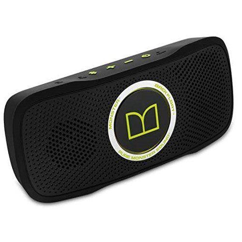 SuperStar 129279-00 BackFloat Bluetooth Speaker - Black and Neon Green