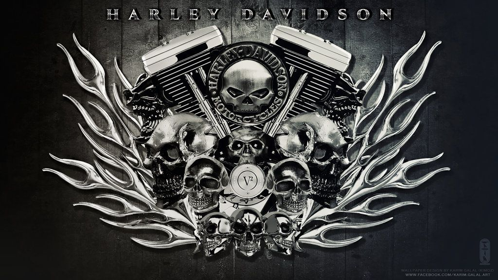 HARLEY DAVIDSON Wallpaper HD by on