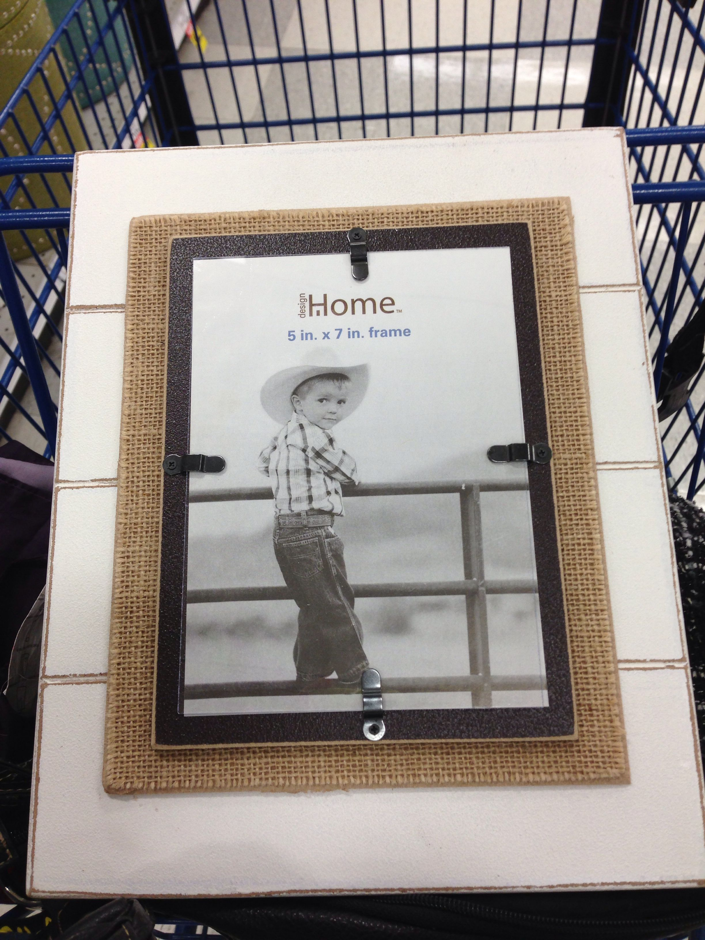 Picture frame from meijer I want to recreate | Crafts | Pinterest ...