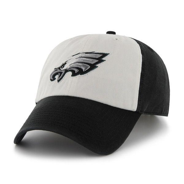 adc5177f1c3 Philadelphia Eagles Freshman Black 47 Brand Adjustable Hat ...