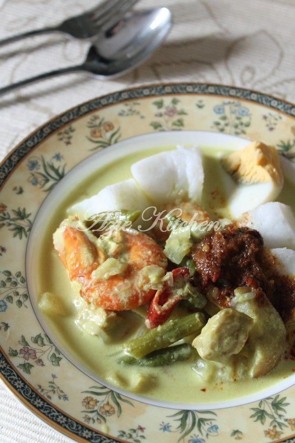 Azie Kitchen Lontong Nur Qaseh Yang Terbaik Savoury Dishes Food Dishes