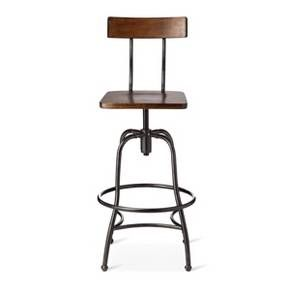 Combine Beauty And Durability With Super Comfort And You Have The Woodsboro Adjustable  Barstool Metal/