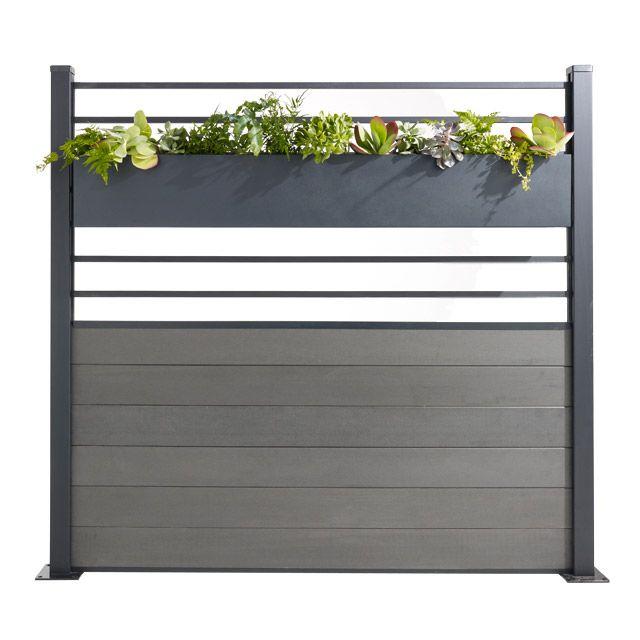 Jardiniere Pour Treillis Idaho Idee Deco Terrasse Castorama Jardin Meuble Jardin