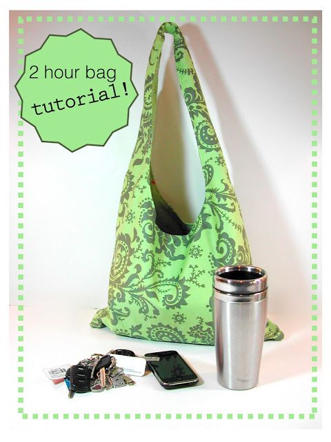 sewing belly buttons boutique: 2 HOUR BAG TUTORIAL! (Quick and easy)