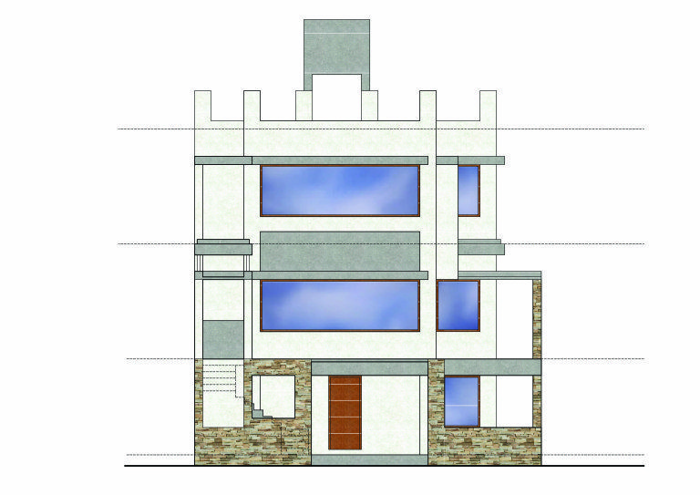 arham residence at surat gujarat floor plans home