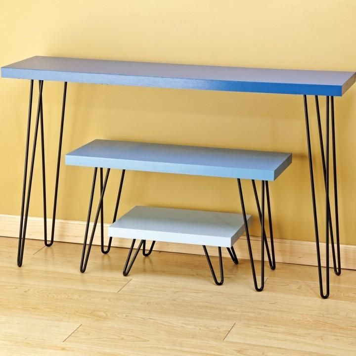 Cool I Semble Hairpin Table Legs Idea - Elegant Hairpin Furniture Legs Lovely