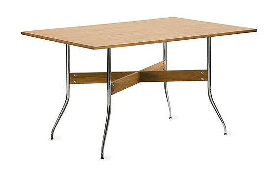 Nelson Swag Leg Rectangular Dining Table Interior Design Living