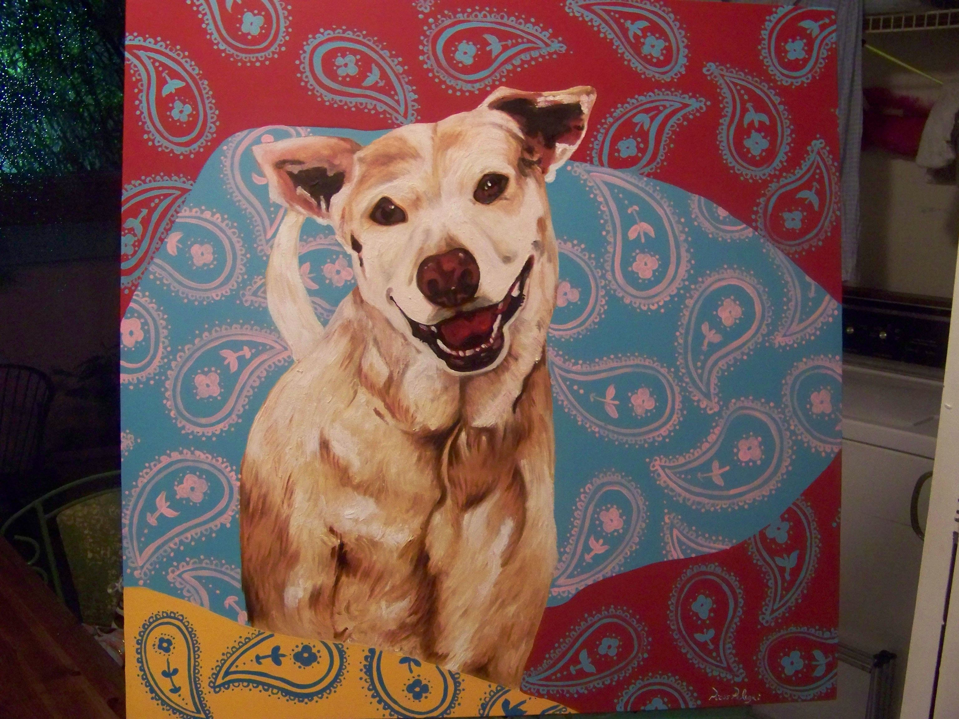 """""""CHANCE"""" Originally Painted for Kathy Griffin Kathy"""