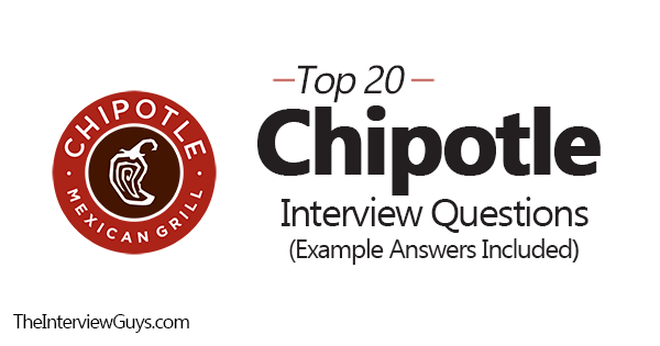 Top 20 Chipotle Interview Questions Example Answers Included Interview Questions This Or That Questions Behavioral Interview Questions