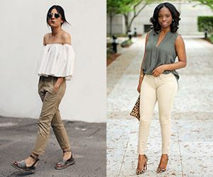 20 Style Tips On How To Wear Khaki Pants This Spring