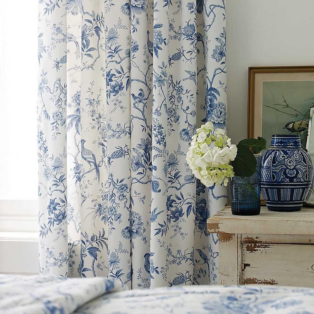 Sanderson Pillemont Lined Curtains Draperies Pinterest