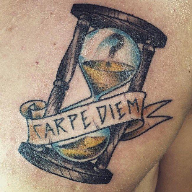 Pin By Michael Davies On Tattoo S Tattoo Carpe Diem Men Tattoos