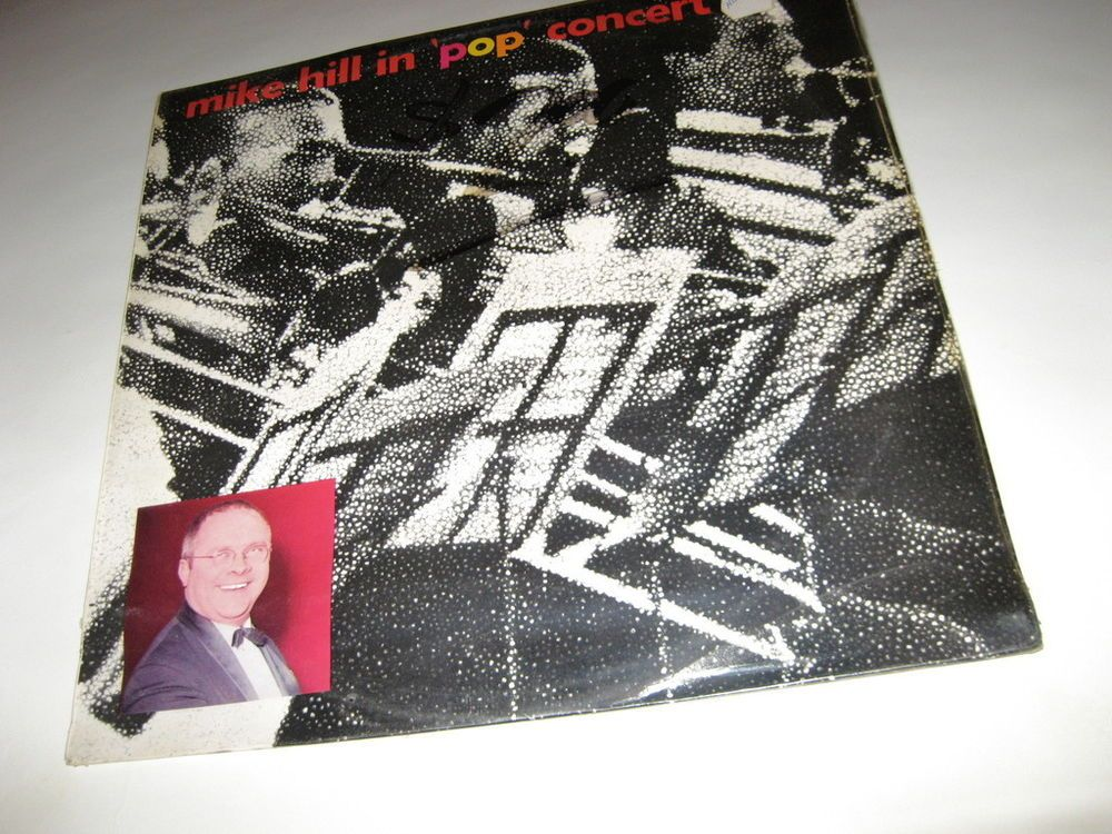 Mike Hill  - Mike Hill In  Pop  Concert , mint ss