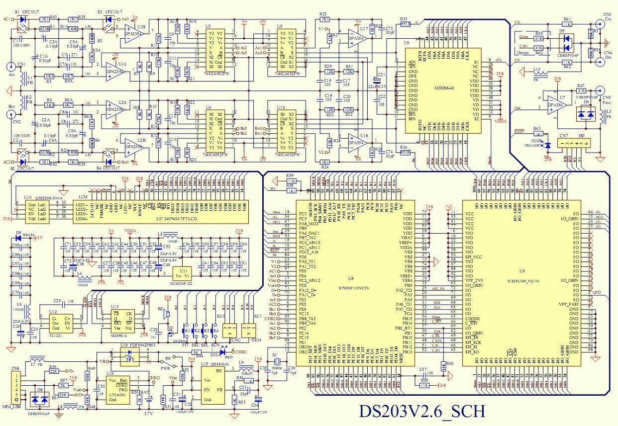 mini dso schematic electronics pinterest digital technology rh pinterest com