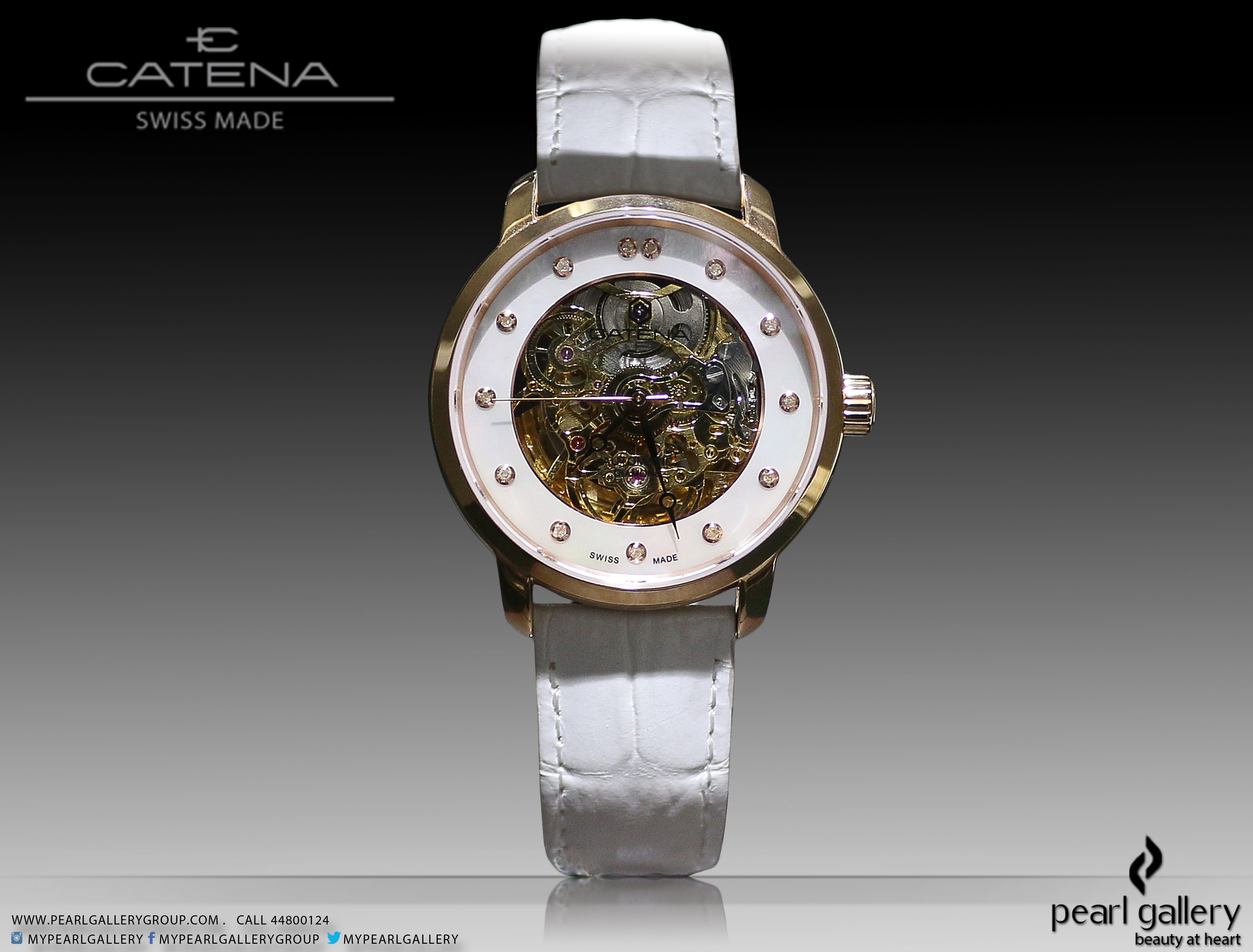 As Early As 1947 When Catena Was Founded In La Chaux De Fonds The Cradle Of The Swiss Watch Making Industry T Watch Collection Swiss Watches Quality Brands