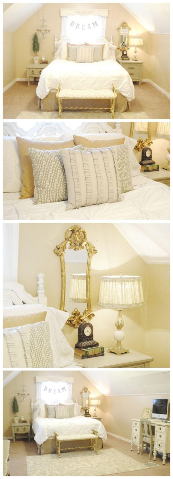 Best Romantic Master Bedroom Makeover Master Bedroom Makeover 400 x 300
