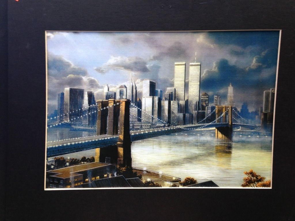 Print of new york city and twin towers i found for 5 and will use print of new york city and twin towers i found for 5 and will use with solutioingenieria Images