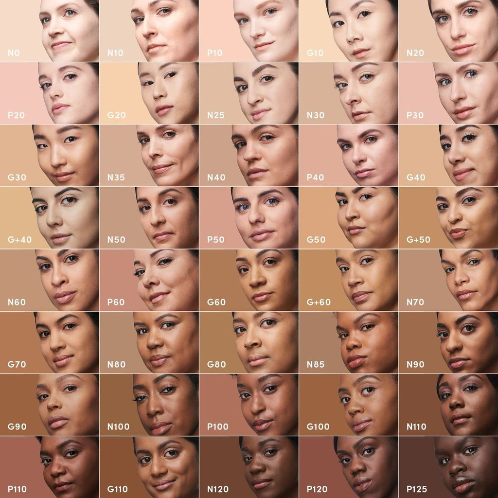 16 Makeup Brands With 40 or More Foundation Shades