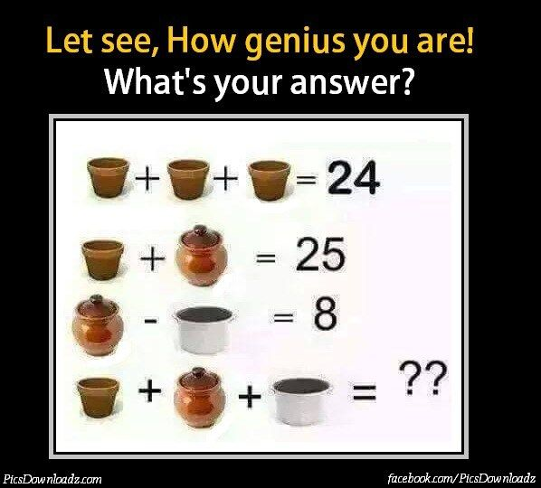 If 5 3 2=151022, Then 7 2 4=? - Genius Math Puzzles | Math Puzzles ...