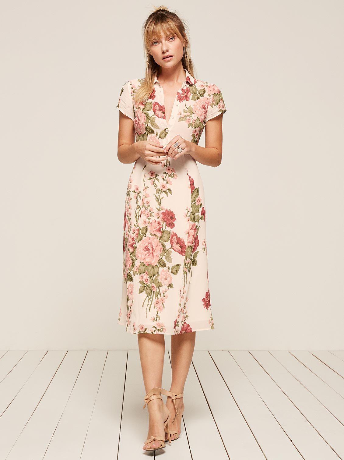 e7858820f Darcy Jumpsuit | Coup de cœur | Dresses, Floral shirt dress, Simple ...