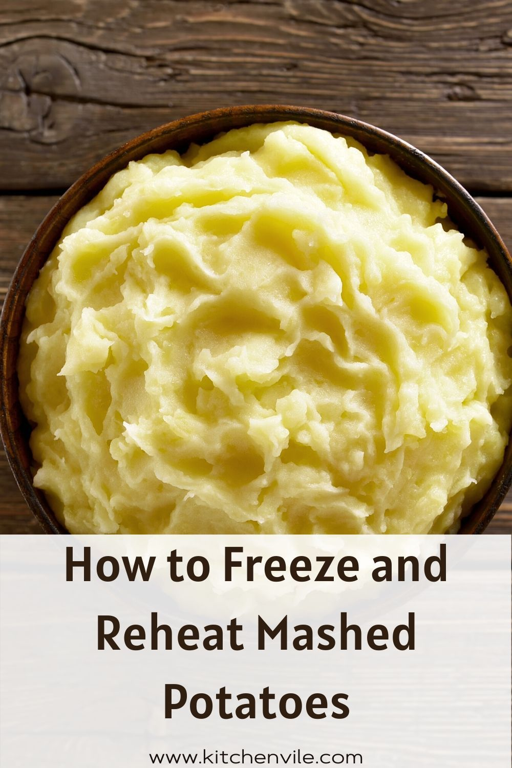 How to freeze and reheat mashed potatoes