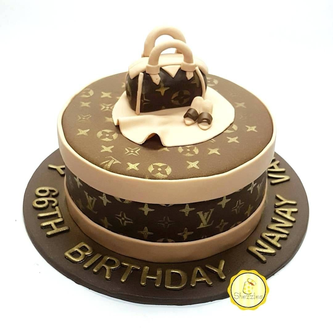 25 Great Picture Of Louis Vuitton Birthday Cake With Images