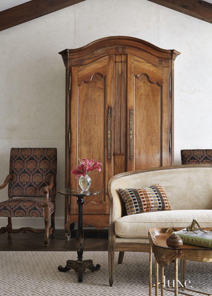 Antique & modern mix living room | beautiful home. | Pinterest ...