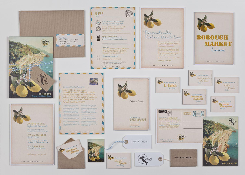 Louise Richardson Stationery wedding abroad stationery | Invite ...