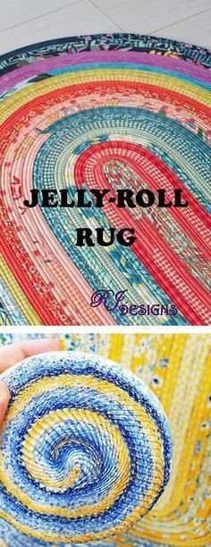 Sew This Jelly Roll Rugs Rugs Jellyroll Quilts