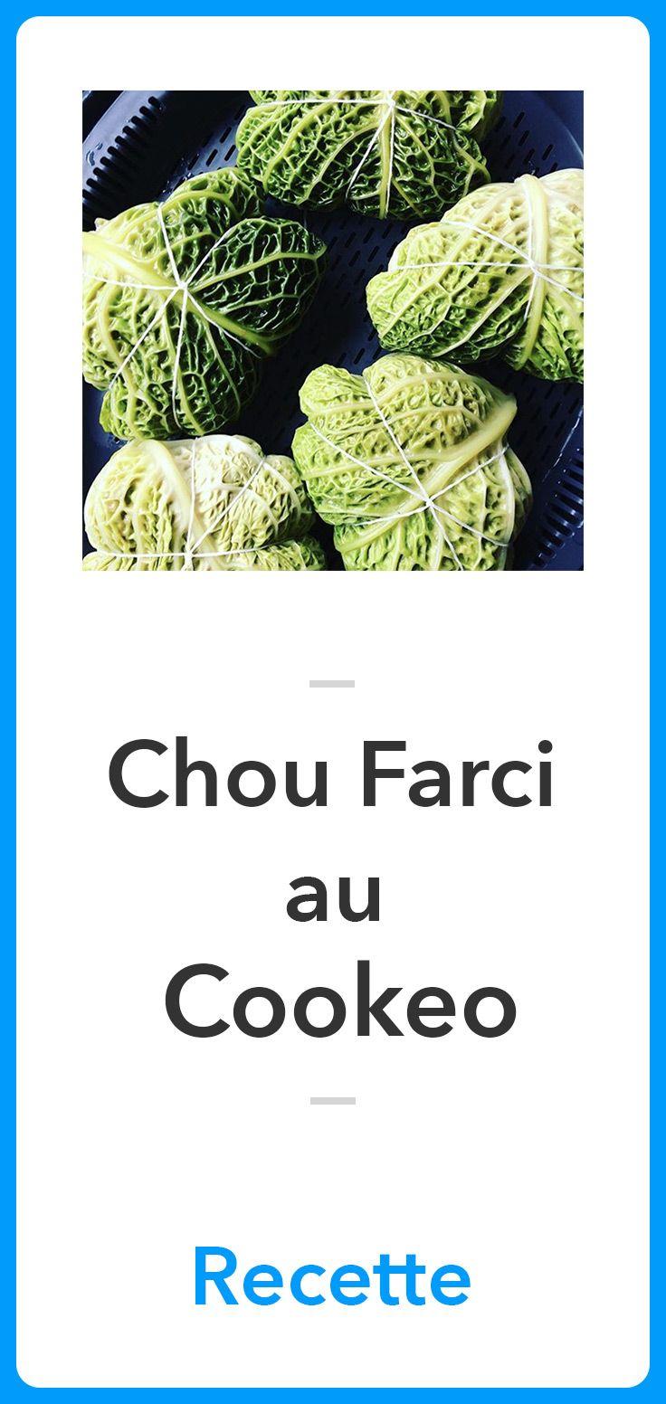 Recette Chou Farci au Cookeo, Recette Cookeo #poteechouvert