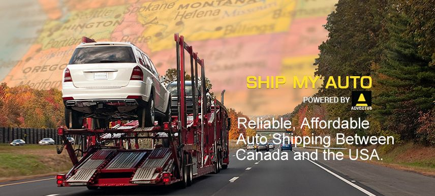 Reliable, Affordable Auto Shipping Between Canada and